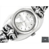 アージェントグリーム Classic Dog Large Watch Bracelet ドッグ ウォッチ ブレス 時計/ウォッチ シルバー M(16.5cm〜18cm) 画像